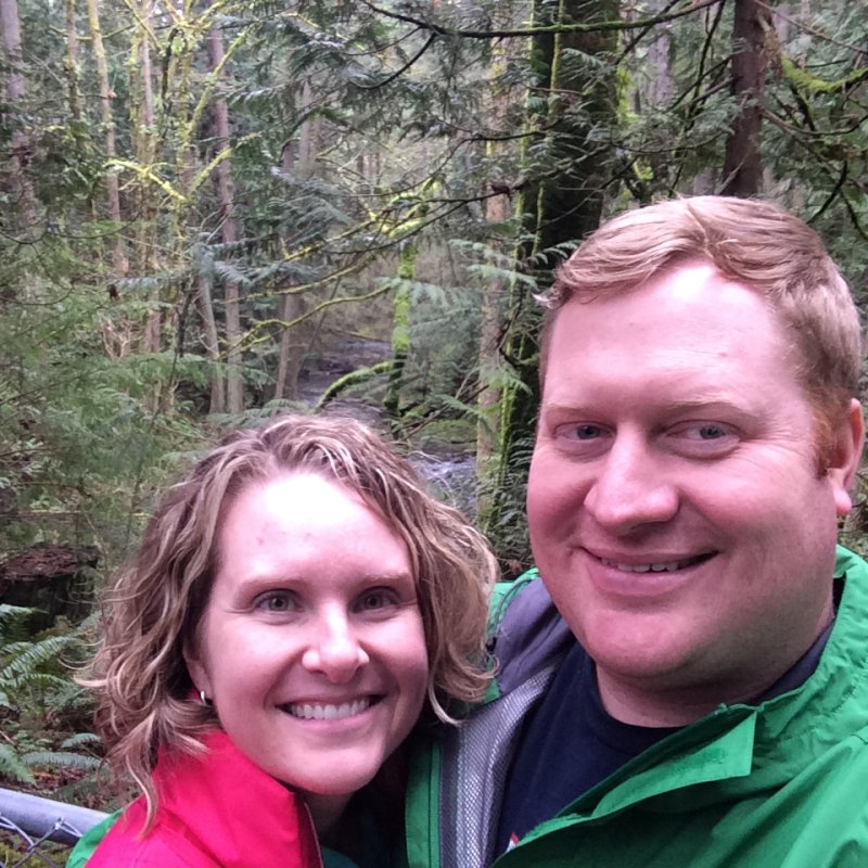 Taking a Hike on a Rainy Day in Washington