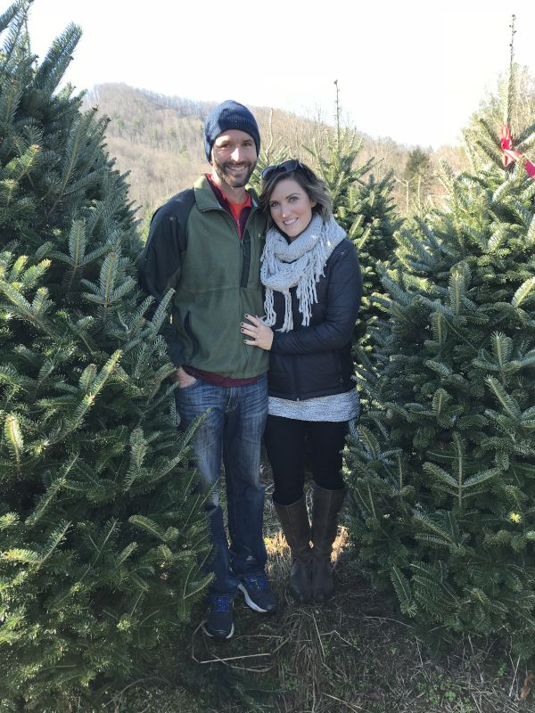 Our Annual Christmas Tree Search