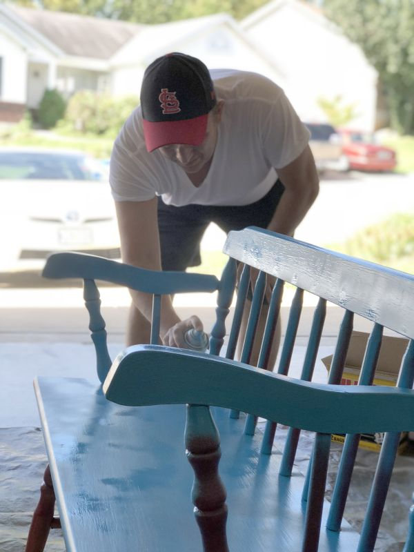 Jeramy Enjoys Refinishing Furniture