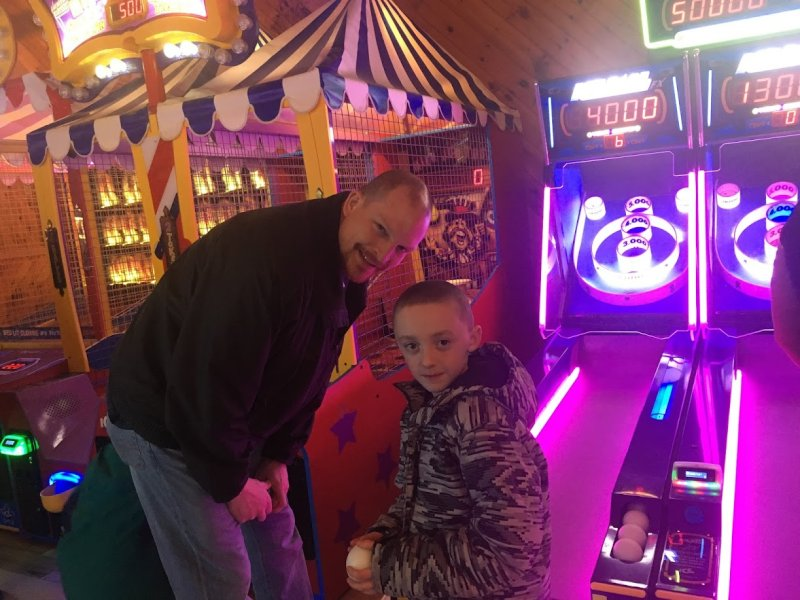 Arcade Fun with Our Nephew