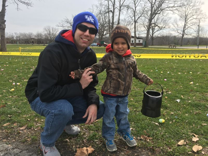 Easter Egg Hunt at the Park