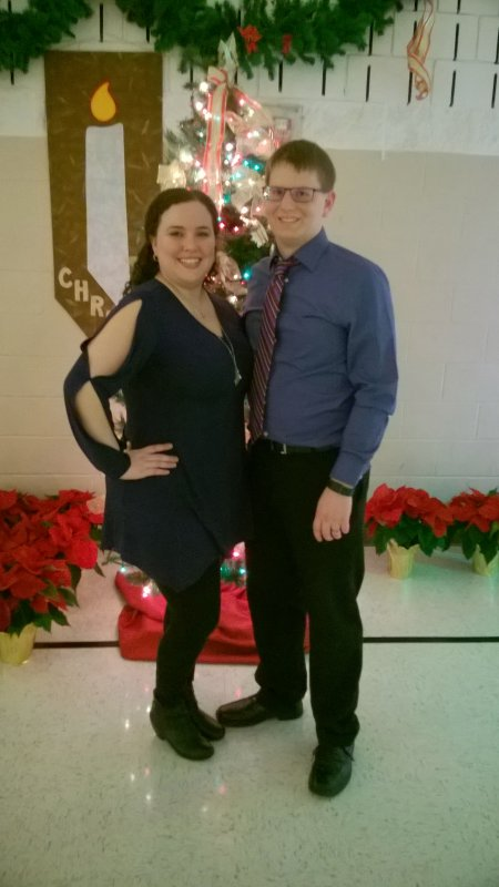 Our Annual Christmas Eve Photo After Church
