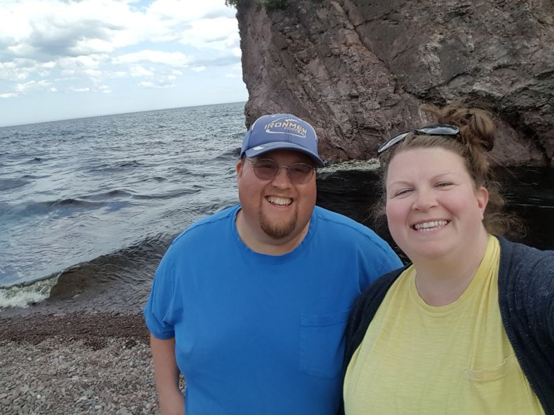 Visting Tettegouche State Park on Lake Superior