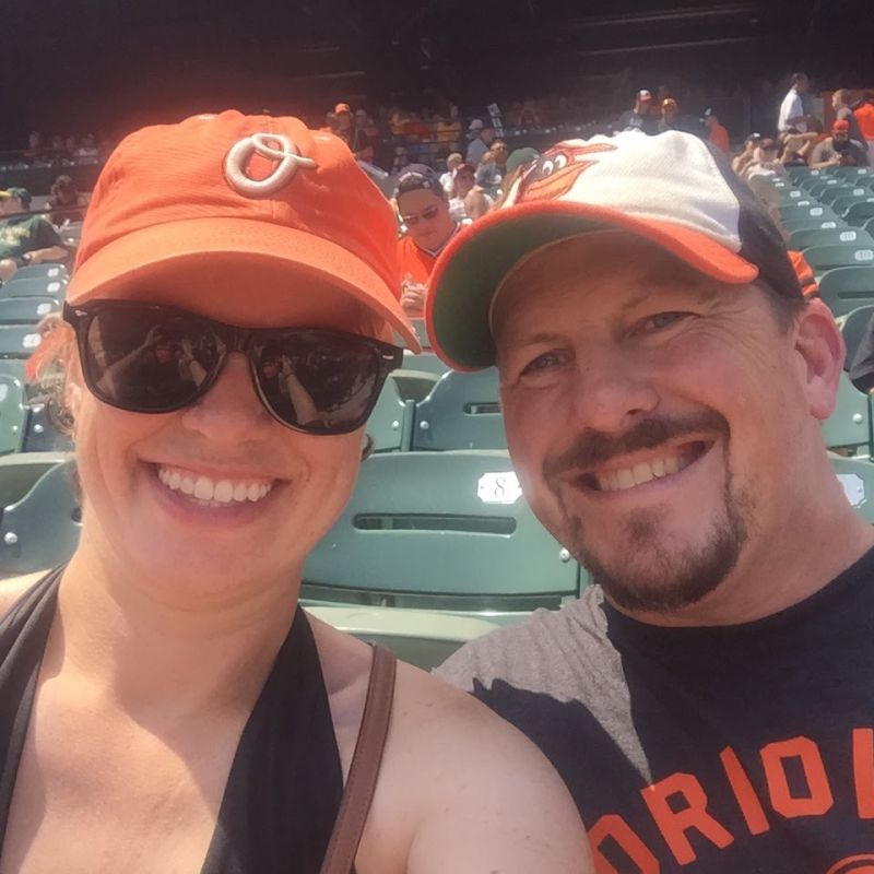 Cheering On the O's