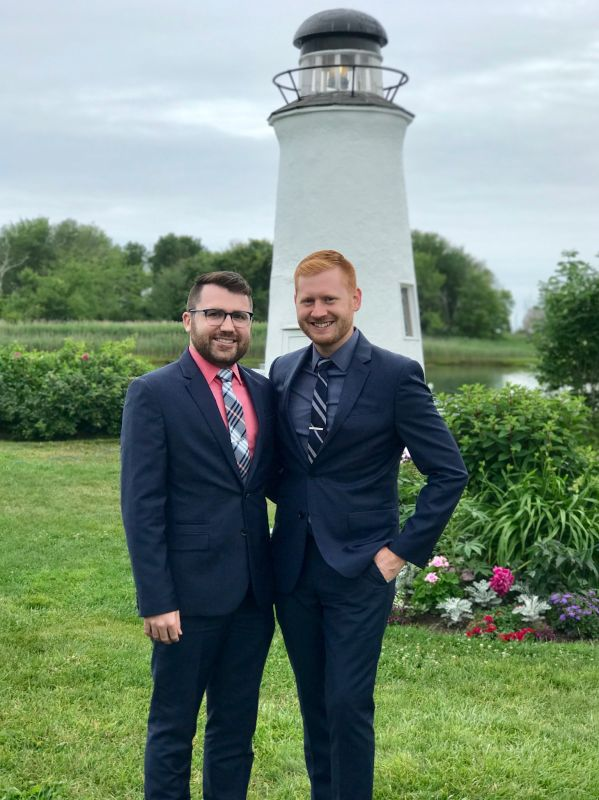 At a Beautiful Wedding in Maine