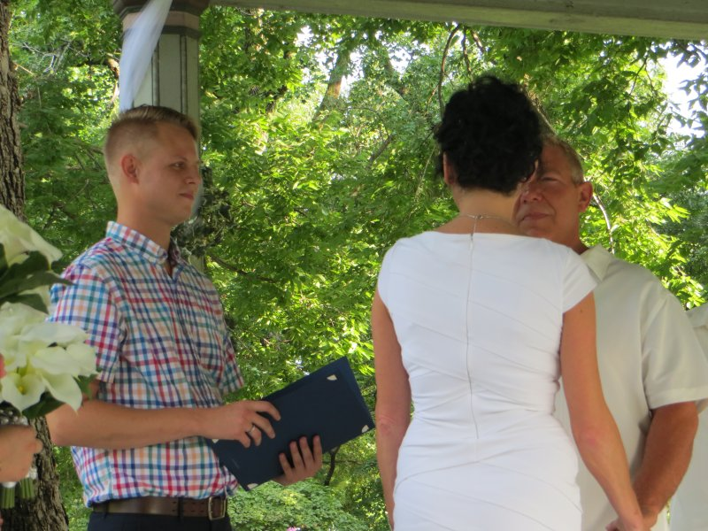 Adam Has Had the Honor of Officiating Several Weddings!