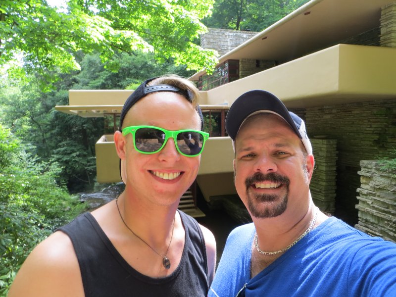 Our Love of Architecture Took Us to Falling Water,  a House Designed by Frank Lloyd Wright