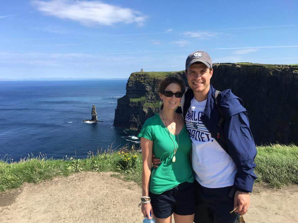 At the Cliffs of Moher, Ireland