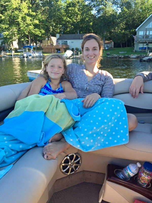 Boat Ride With Our Niece