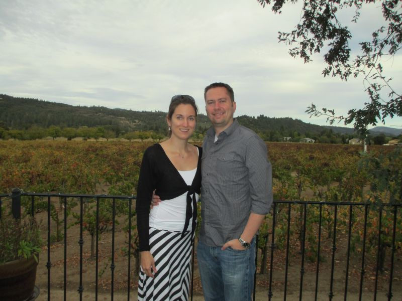 Visiting a Vineyard in Northern California