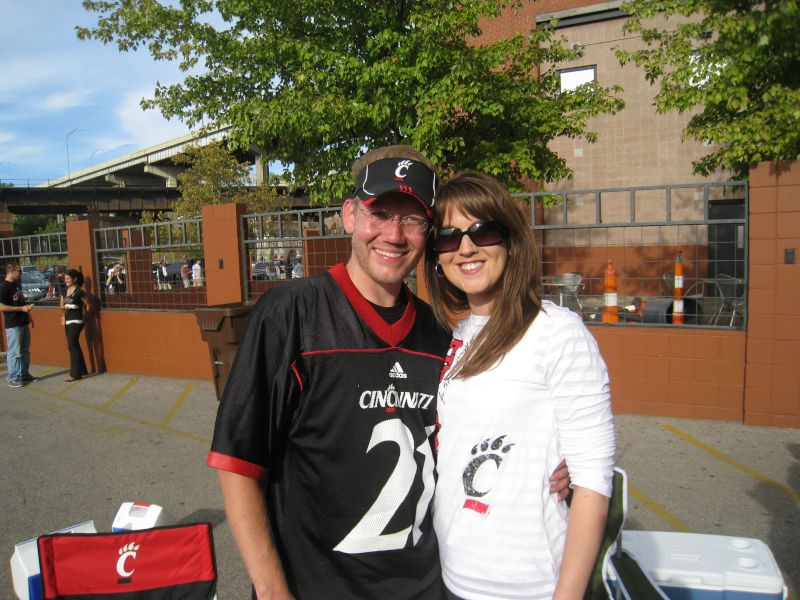 Tailgating Before a Bearcats Game