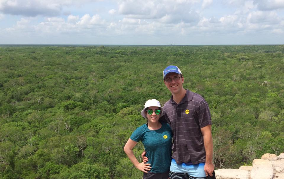 Hiking to the Top of Tulum