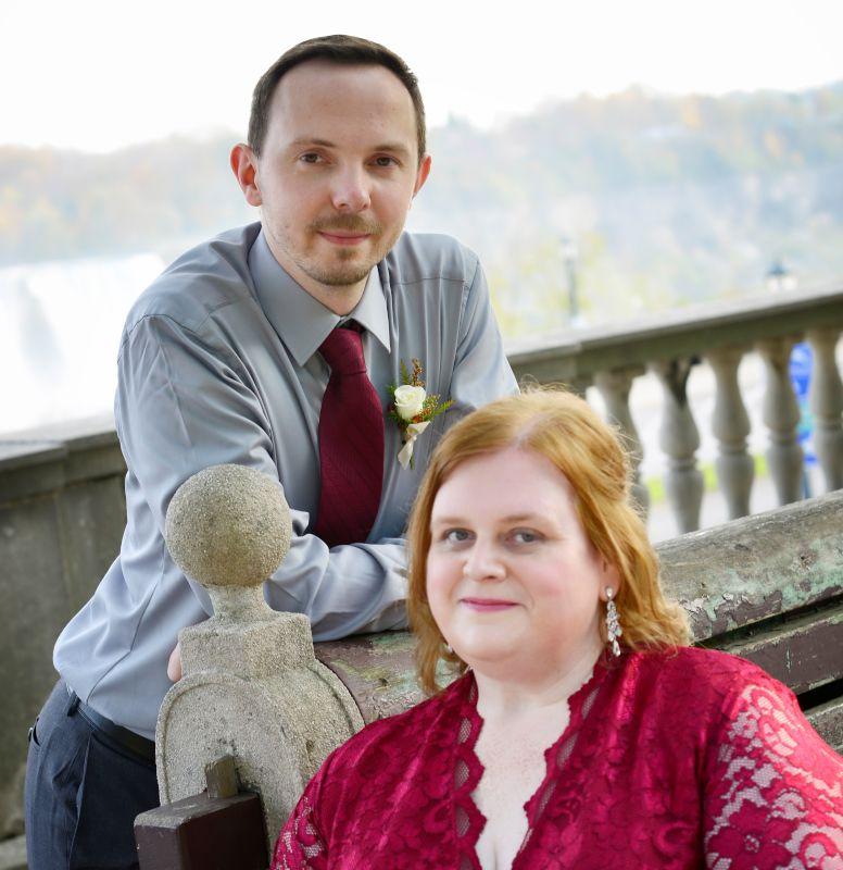 Renewing Our Wedding Vows at Niagara Falls