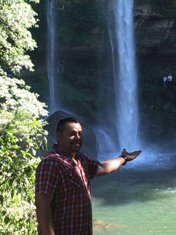 Exploring a Waterfall