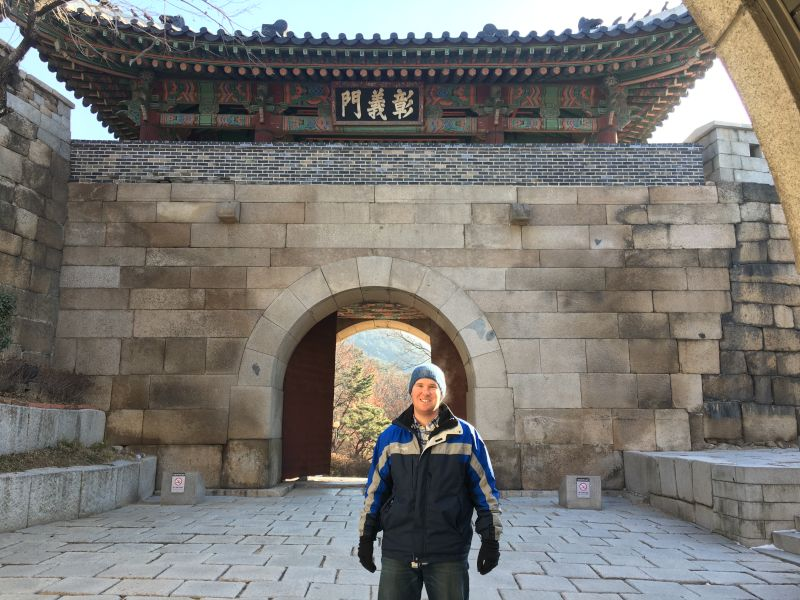 Visiting a Temple in South Korea