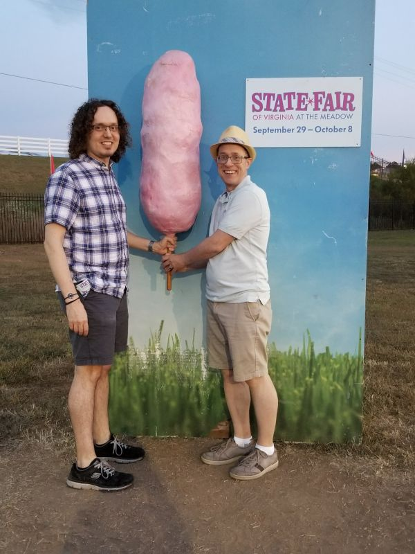 At the State Fair