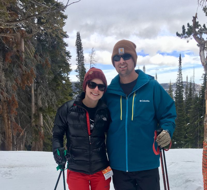 A Skiing Adventure in Wyoming