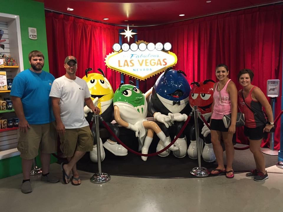 M&M World with Our Friends
