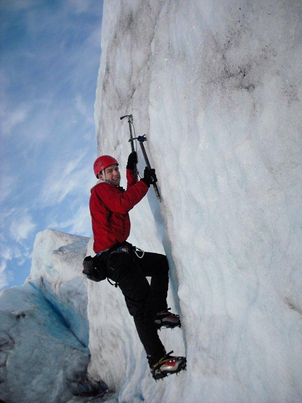 Climbing in Alaska