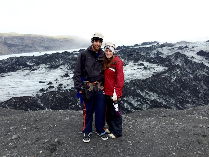 Hiking Glaciers in Iceland