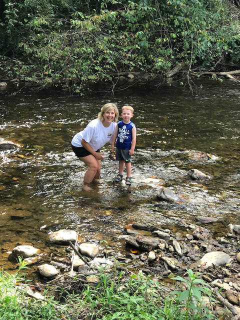 Creek Time With Mommy