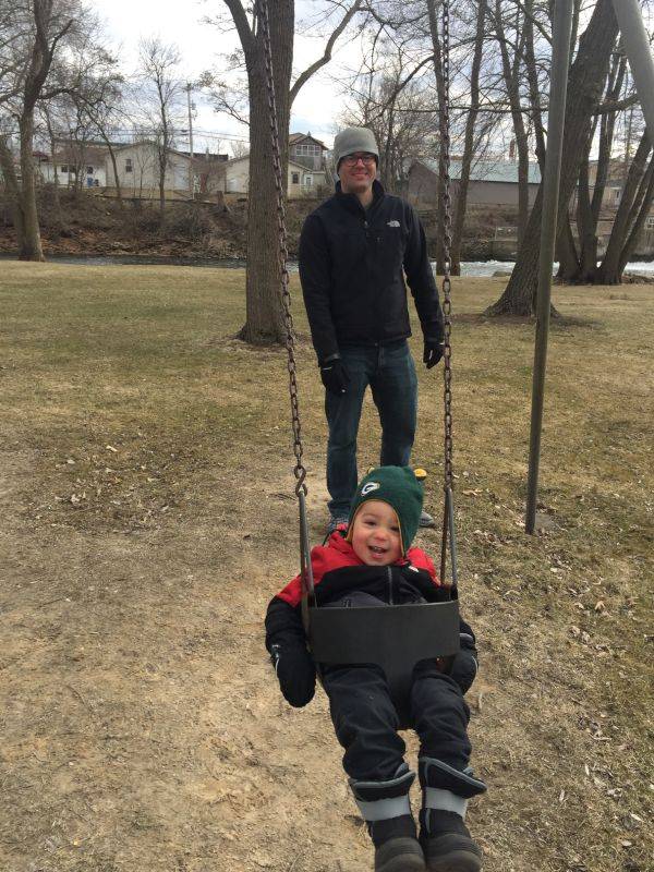 Even When It's Cold We Still Love the Park!