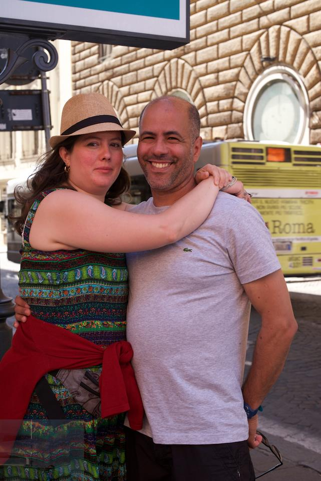 On Our Honeymoon in Rome