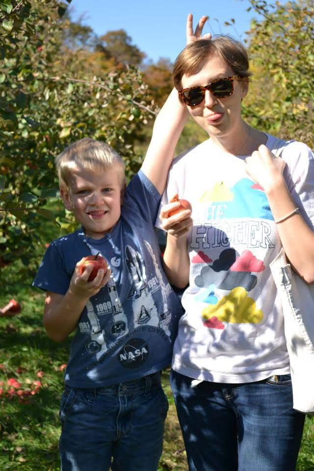 Apple Orchard Shenanigans With Our Nephew