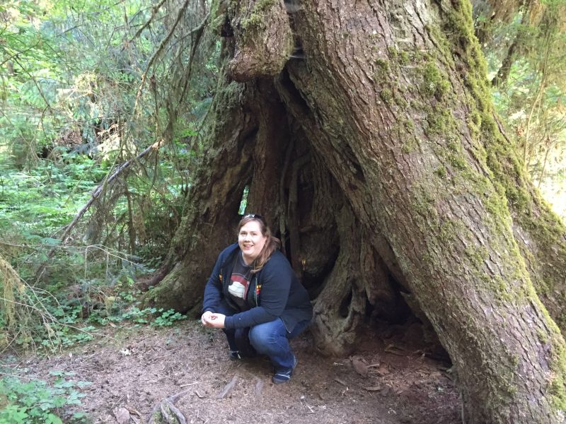 Exploring the Hoh Rainforest in Washington
