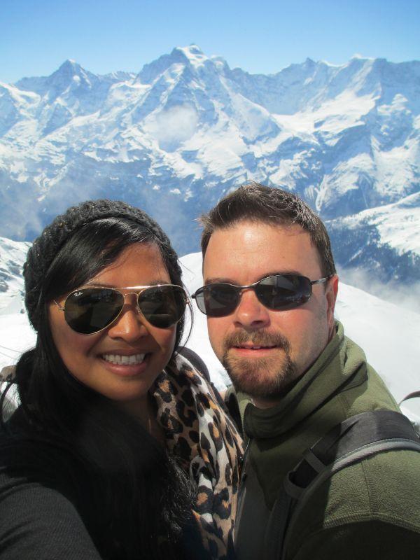 Enjoying the View in Switzerland