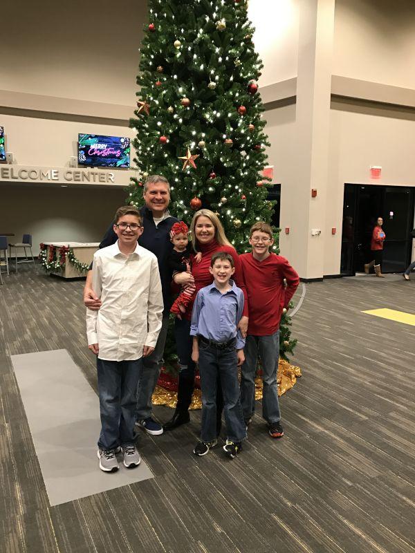 Attending a Christmas Program