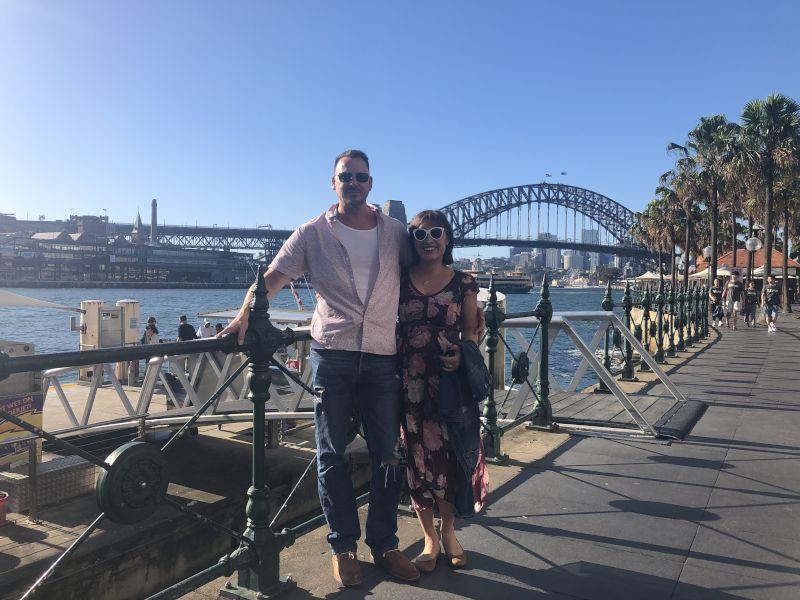 On Vacation at Sydney Harbor