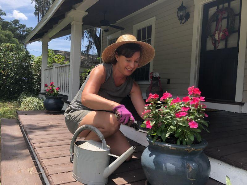 Joanna Gardening