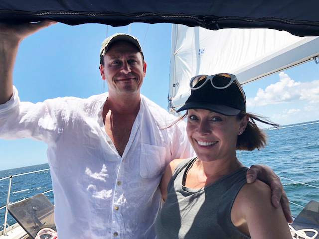 Sailing With Friends on the Gulf of Mexico
