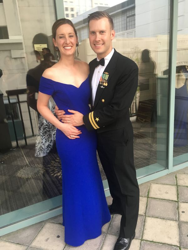 All Dressed Up for the Submarine Ball
