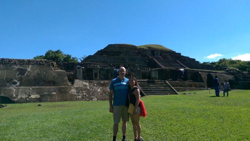 Exploring Mayan Ruins in El Salvador