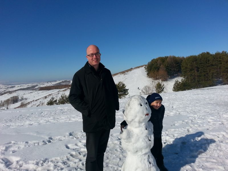 Winter Fun With Our Nephew