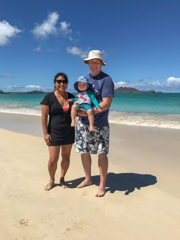 Spending the Afternoon at the Beach in Hawaii. What a Perfect Day!