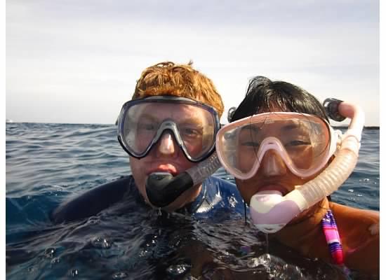 We Love to Snorkel!