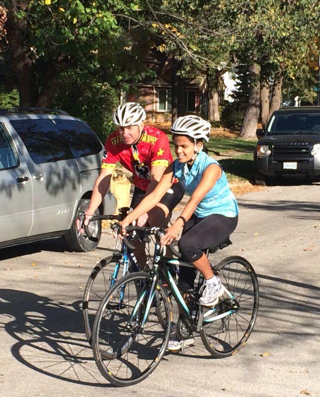 Biking on a Sunday Afternoon