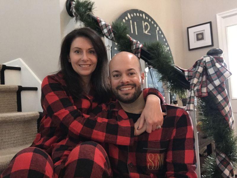 Matching Jammies on Christmas