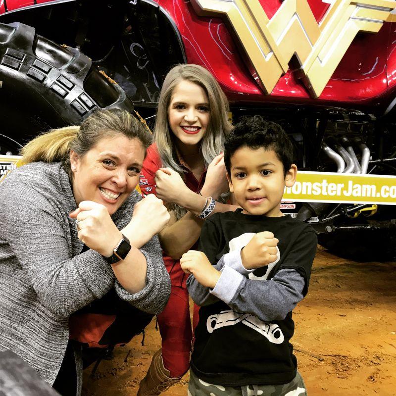 Monster Truck Wonder Woman