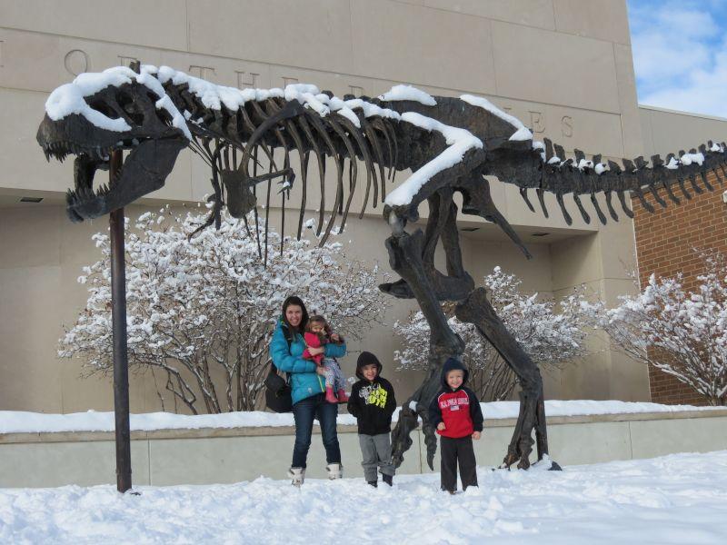 Visit to the Dinosaur Museum