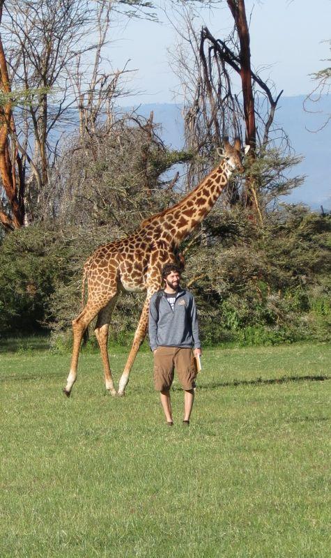 On Safari While Visiting Jon's Family in Kenya