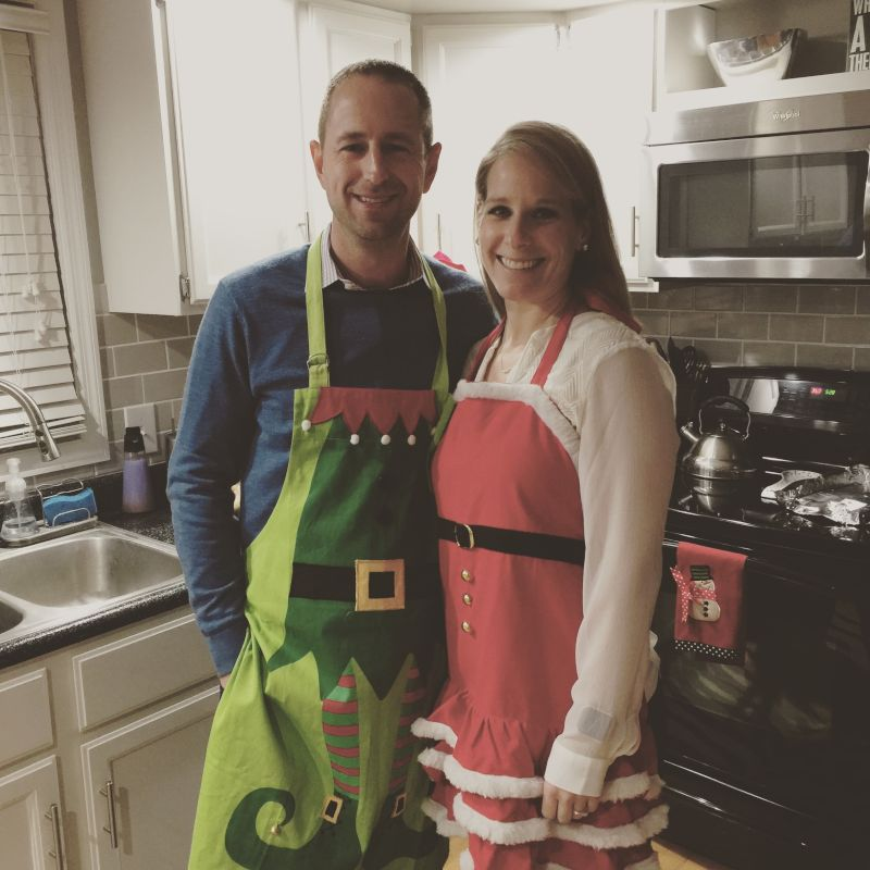 Cooking Christmas Dinner