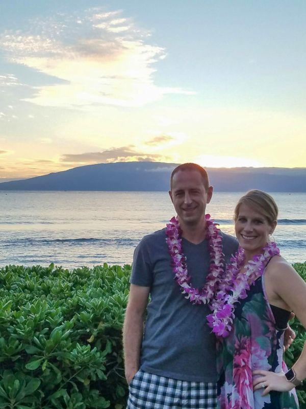 A Beautiful Sunset in Maui