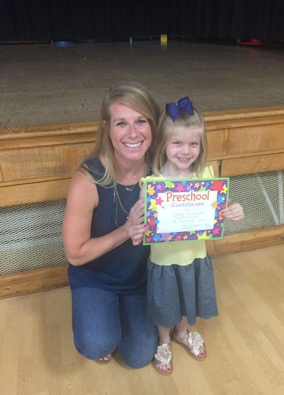 Celebrating Our Niece's Preschool Graduation