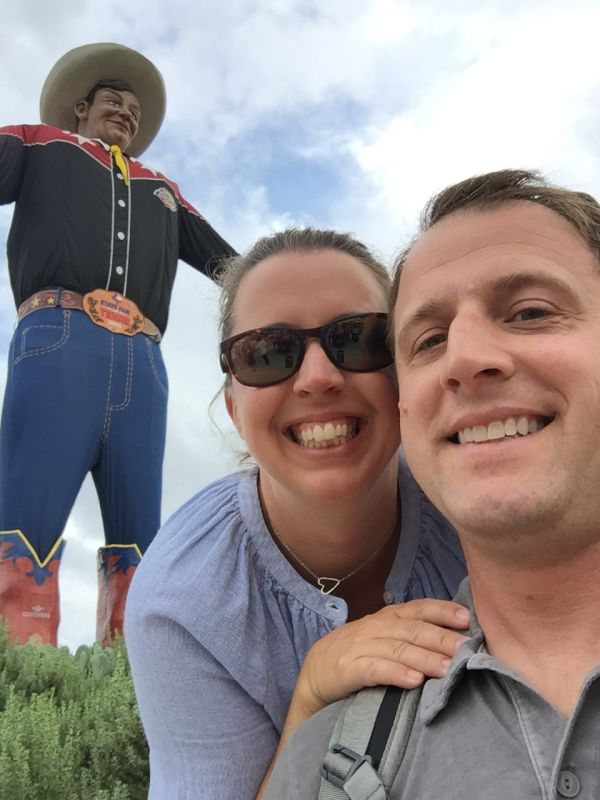 With Big Tex