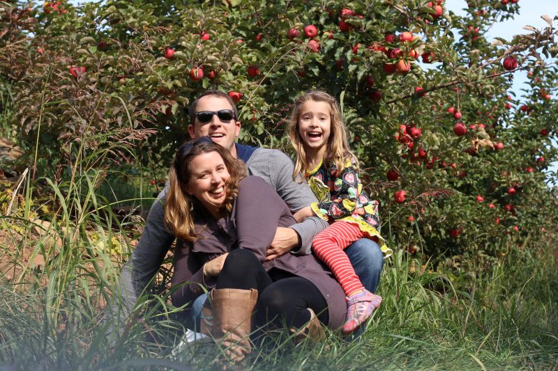 Annual Apple Picking Trip