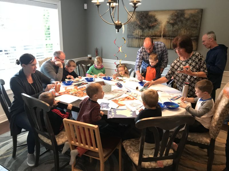 Crafting With Family & Friends